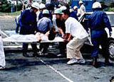 写真:総合防災訓練